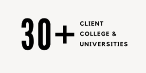 30+ Client Colleges & Universities