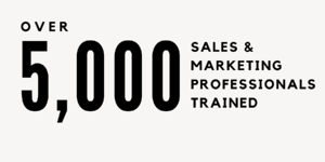 Over 5,000 Sales & Marketing Professionals Trained