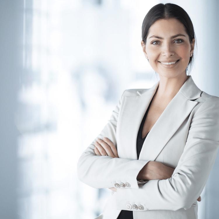 Professional Saleswoman