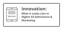 eBook: Innovation In Higher Ed