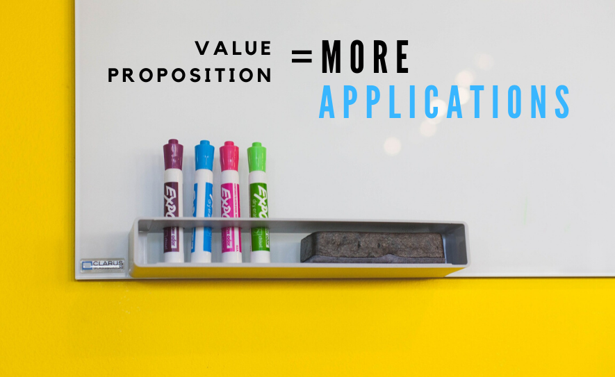 Value Proposition = More Applications